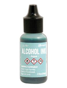 Tim Holtz® Alcohol Ink Aqua, 0.5oz Alcohol Ink Tim Holtz