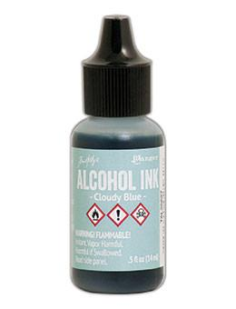 Tim Holtz® Alcohol Ink Cloudy Blue, 0.5oz Ink Alcohol Ink
