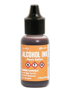 Tim Holtz® Alcohol Ink Peach Bellini, 0.5oz Ink Alcohol Ink