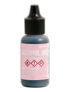 Tim Holtz® Alcohol Ink Pink Sherbet, 0.5oz Ink Alcohol Ink