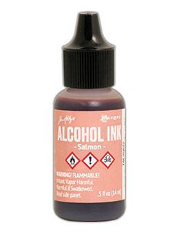 Tim Holtz® Alcohol Ink Salmon, 0.5oz Ink Alcohol Ink