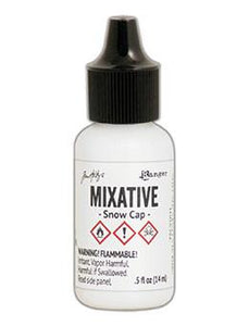 Tim Holtz® Mixatives™ Snow Cap, 0.5oz