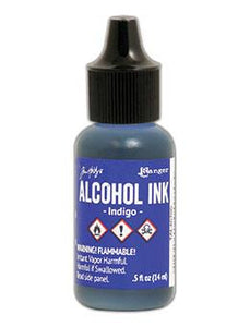 Tim Holtz® Alcohol Ink Indigo, 0.5oz Ink Alcohol Ink
