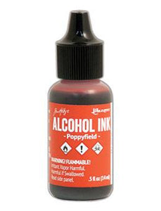 Tim Holtz® Alcohol Ink Poppyfield, 0.5oz Ink Alcohol Ink