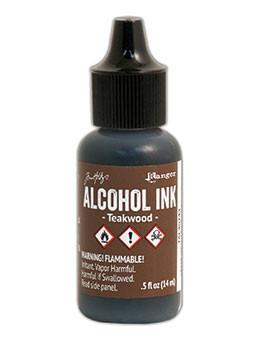 Tim Holtz® Alcohol Ink Teakwood, 0.5oz Ink Alcohol Ink