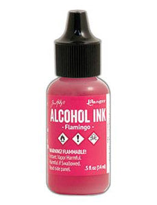 Tim Holtz® Alcohol Ink Flamingo, 0.5oz Ink Alcohol Ink