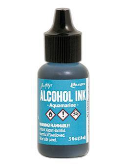NEW! Tim Holtz® Alcohol Ink Aquamarine, 0.5oz