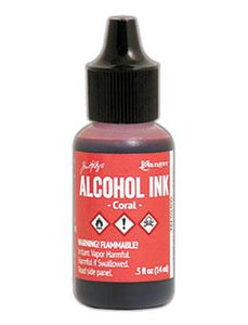 Tim Holtz® Alcohol Ink Coral, 0.5oz Ink Alcohol Ink