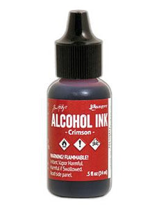 Tim Holtz® Alcohol Ink Crimson, 0.5oz