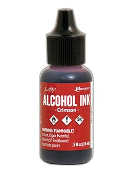 NEW! Tim Holtz® Alcohol Ink Crimson, 0.5oz