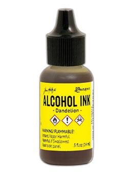 Tim Holtz® Alcohol Ink Dandelion, 0.5oz Ink Alcohol Ink