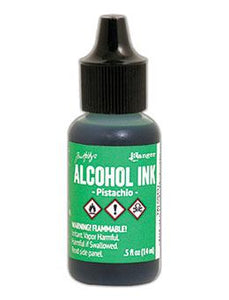 Tim Holtz® Alcohol Ink Pistachio, 0.5oz Ink Alcohol Ink