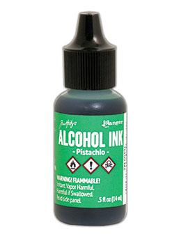 NEW! Tim Holtz® Alcohol Ink Pistachio, 0.5oz
