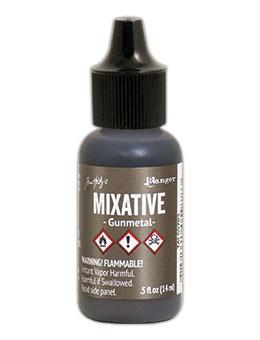 Tim Holtz® Mixatives™ Gunmetal, 0.5oz Ink Alcohol Ink