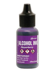 Tim Holtz® Alcohol Ink Boysenberry, 0.5oz Ink Alcohol Ink