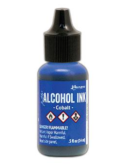 Tim Holtz® Alcohol Ink Cobalt, 0.5oz Ink Alcohol Ink