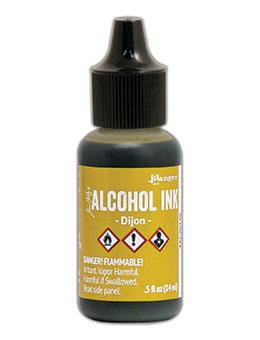 Tim Holtz® Alcohol Ink Dijon, 0.5oz Ink Alcohol Ink