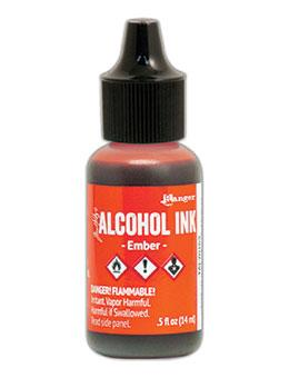 Tim Holtz® Alcohol Ink Ember, 0.5oz Ink Alcohol Ink