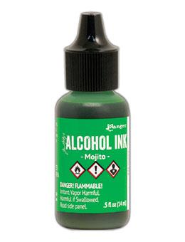 Tim Holtz® Alcohol Ink Mojito, 0.5oz Ink Alcohol Ink