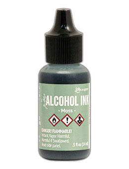Tim Holtz® Alcohol Ink Moss, 0.5oz Ink Alcohol Ink