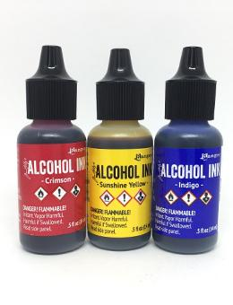 Tim Holtz® Alcohol Ink Primary Colors Kits Alcohol Ink