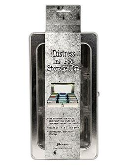 Tim Holtz Distress® Ink Pad Storage Tin Storage Distress
