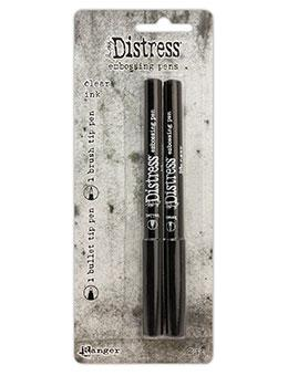 Tim Holtz® Distress Embossing Pen, 2pk Writing & Coloring Distress