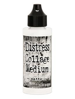 Tim Holtz Distress® Collage Medium Matte, 2oz Adhesives & Mediums Distress