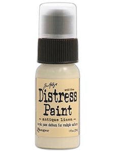 Tim Holtz Distress® Dabber Paint Antique Linen, 1oz Paint Tim Holtz
