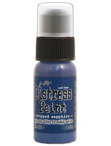 Tim Holtz Distress® Dabber Paint Chipped Sapphire, 1oz Paint Tim Holtz