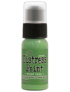 Tim Holtz Distress® Dabber Paint Mowed Lawn, 1oz Paint Tim Holtz