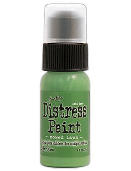 Tim Holtz Distress® Dabber Paint Mowed Lawn, 1oz