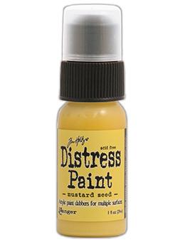 Tim Holtz Distress® Dabber Paint Mustard Seed, 1oz