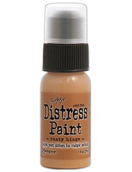Tim Holtz Distress® Dabber Paint Rusty Hinge, 1oz Paint Tim Holtz