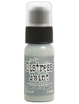 Tim Holtz Distress® Dabber Paint Iced Spruce, 1oz