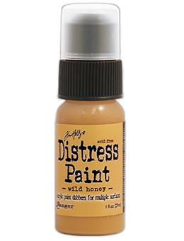 Tim Holtz Distress® Dabber Paint Wild Honey, 1oz Paint Tim Holtz