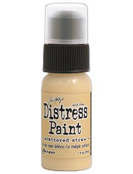 Tim Holtz Distress® Dabber Paint Scattered Straw, 1oz Paint Tim Holtz