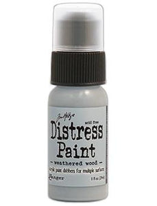 Tim Holtz Distress® Dabber Paint Weathered Wood, 1oz Paint Tim Holtz