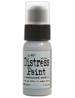 Tim Holtz Distress® Dabber Paint Weathered Wood, 1oz