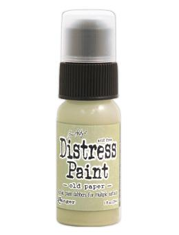Tim Holtz Distress® Dabber Paint Old Paper, 1oz Paint Tim Holtz