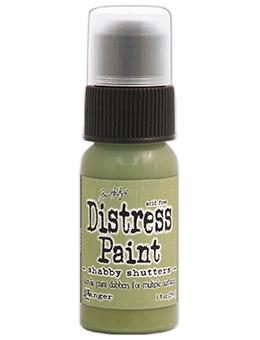 Tim Holtz Distress® Dabber Paint Shabby Shutters Paint Tim Holtz