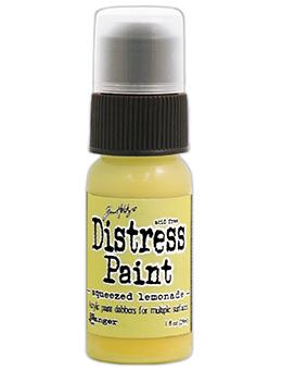 Tim Holtz Distress® Dabber Paint Squeezed Lemonade, 1oz Paint Tim Holtz