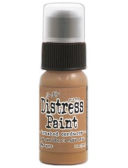 Tim Holtz Distress® Dabber Paint Brushed Corduroy, 1oz Paint Tim Holtz
