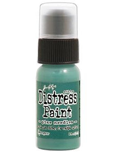 Tim Holtz Distress® Dabber Paint Pine Needles, 1oz Paint Tim Holtz