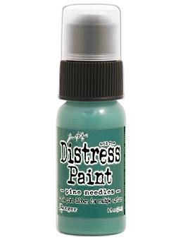 Tim Holtz Distress® Dabber Paint Pine Needles, 1oz