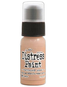 Tim Holtz Distress® Dabber Paint Tattered Rose, 1oz Paint Tim Holtz