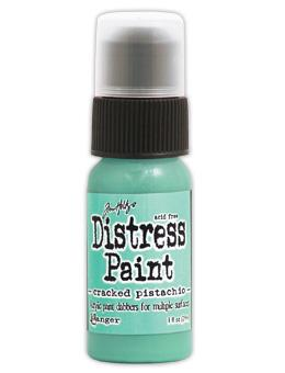 Tim Holtz Distress® Dabber Paint Cracked Pistachio, 1oz Paint Tim Holtz