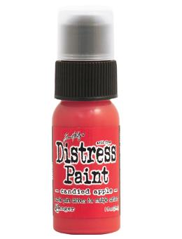 Tim Holtz Distress® Dabber Paint Candied Apple, 1oz