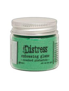 Tim Holtz® Distress Embossing Glaze Cracked Pistachio Powders Distress