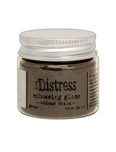 Tim Holtz® Distress Embossing Glaze Walnut Stain Powders Distress